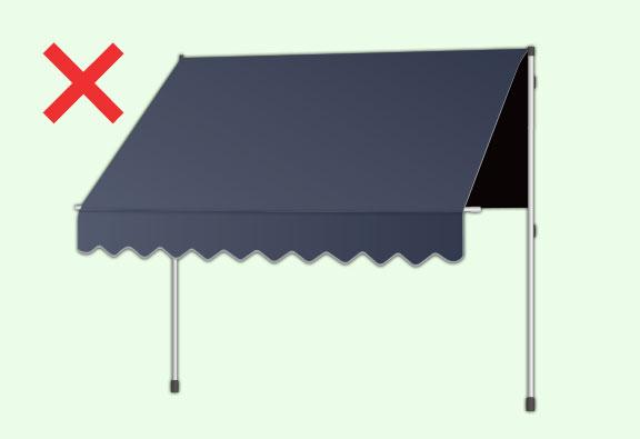 オーニングテント 折畳式テント